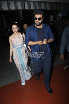 Shraddha Kapoor and Arjun Kapoor landed in Mumbai after their hectic schedule for the promotions of their movie Half Girlfriend