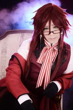 赤い死神 - Iori Shiranui(†庵†) Grell Sutcliff Cosplay Photo - WorldCosplay
