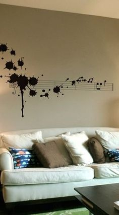 My little sis would be all over this- perfect for any music-loving teen's room or space.