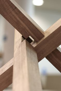 "Head  Haft - ""Another sneak peak of a bit of joinery from a..."