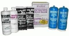 Pool Trol Winter Kit for pools up to gallons. GALLON KIT: 2 Preloaded dispensers of winterizing tablets lb.) 1 quart of Liquid Winterizer 1 quart of Winter Stain Out 2 lb. Non-Chlorine Shock Pool Shock, Pool Chemicals, Pool Supplies, Pool Water, Closer, Swimming Pools, Home And Garden, Kit, Bottle