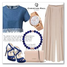 """""""Christian Paul Watch"""" by andrejae ❤ liked on Polyvore featuring Chicnova Fashion, Givenchy, GUESS and christianpaul"""