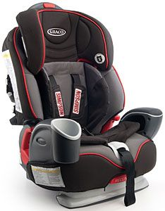 racing baby seats..awesome! Steve wants this in his car for the baby