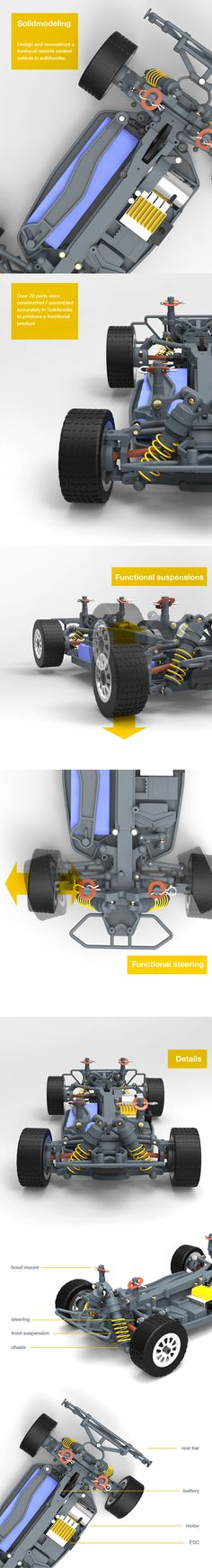 Solidworks designed functioning prototype