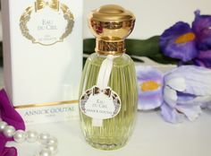 Eau de Ciel by Annick Goutal is the type of fragrance that is best worn on a warm summer day.  It was inspired from Annick Goutal's love for the countryside South of France, and designed to be a fresh, soft, and airy natural fragrance.  Imagine that unique smell of nature after a hot summer rain has washed over your garden.