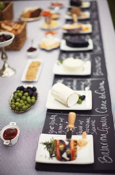 Classy bridal shower party theme idea - wine & cheese tasting party {Courtesy of Tablespoon} Wine And Cheese Party, Wine Tasting Party, Wine Cheese, Fancy Cheese, Tasting Table, Cheese Table, Cheese Platters, Buffet Party, Wein Parties