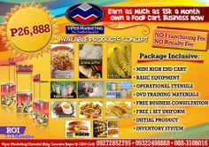 Food Cart Business, Training Materials, A Food, Yummy Food, Mini, Cagayan De Oro, Delicious Food