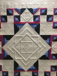 Inspirational suggestions that we really enjoy! Quilting Stitch Patterns, Machine Quilting Patterns, Modern Quilt Patterns, Quilt Stitching, Longarm Quilting, Free Motion Quilting, Quilting Ideas, Block Patterns, Hand Quilting