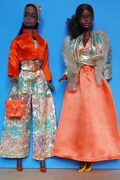 """""""Brocade shine for nighttime"""" or """"How they use to party in the 70's"""""""