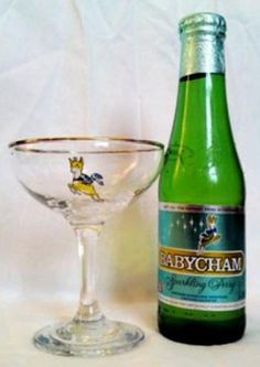 Babycham was probably one of the first alcoholic drinks I had. My mum & Grandma drank it. A Babycham glass and a bottle to match, Retro Chick has the perfect retro Friday night tipple 1970s Childhood, Childhood Toys, Childhood Memories, Happy Drink, Google Plus, Teenage Years, The Good Old Days, Bambi, Growing Up