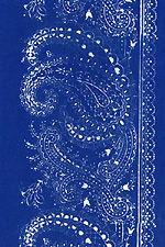 Kekfesto Hungarian blue print fabric