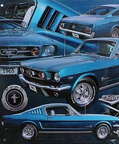 Go Ford Mustang crazy with this awesome #MuscleCarMonday pic! Hit tehe link to see more http://www.ebay.com/itm/Small-Size-Tin-Sign-Wall-Decor-Retro-Metal-Bar-Poster-Vintage-Car-1965-Ford-289-/310915758434?pt=Art_Posters&hash=item486405f962?roken2=ta.p3hwzkq71.bdream-cars