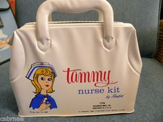 Vintage Tammy Nurse Kit by Hasbro for Ideal Toy Corp 1963