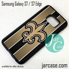New Orleans Saints Phone Case for Samsung Galaxy S7 & S7 Edge