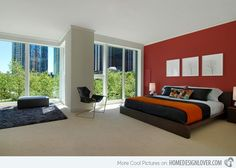 15 Pleasant Black White and Red Bedroom Ideas Red bedrooms and