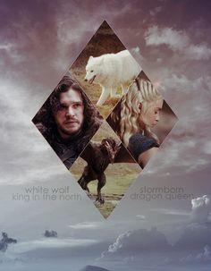 Jon Snow & Daenerys Targaryen   Jon x Dany   Jonerys #GameofThrones #tumblr edit