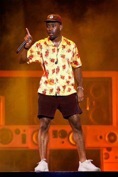 Tyler, the Creator Is a Technicolor Dream Tyler The Creator Fashion, Tyler The Creator Outfits, Tyler The Creator Wallpaper, Races Fashion, Fashion Art, Trippie Redd, Skate Wear, White Boys, Flower Boys