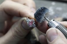 An insight into the handcrafting process for our beautiful ring featuring a 0.66ct Argyle Pink Diamond from the 2008 Annual Argyle Diamond Tender. enquiries@rohanjewellery.com Argyle Diamond, Argyle Pink Diamonds, Beautiful Rings, Handcrafted Jewelry, Insight, Diamond Earrings, Pretty Rings, Handmade Chain Jewelry, Handmade Jewelry