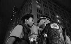 Marche contre les violences policières. (John J. Kim / World Press Photo)