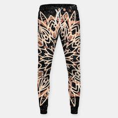Metallic Mandala Cotton sweatpants   LiveHeroes #beebeedeigner #art #design #mandala #mandalaart #fashion #fashionlovers #fashionista #fashionblogger #liveheroes Black Marble Background, Cotton Sweatpants, Jogger Pants, Mandala, Metallic, Hero, Stylish, Design, Fashion