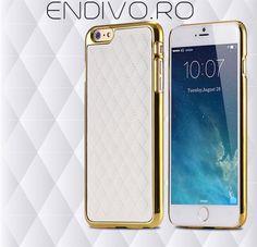 Husa piele iPhone 6 este o husa de clasa premium ce are un design unic din piele si cusaturi de mana pe spatele acesteia dar iti va proteja telefonul iPhone 6