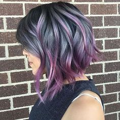 Short AssymetricalBob Hair
