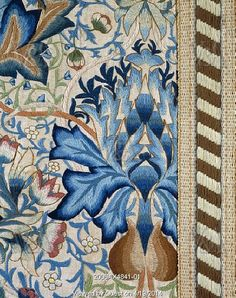 The Artichoke, by William Morris. Yorkshire, England, late 19th century