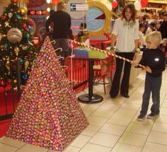 Christmas Carnival Ideas - fishing for candy canes