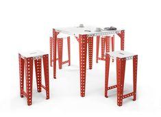 MECCANO HOME - TABLE HAUTE