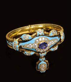 Antique Russian diamond bracelet