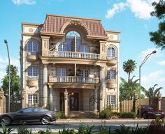 A RENOVATION FOR A RESIDENTIAL ELEVATION AT EGYPT