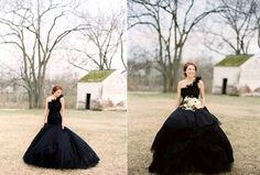 If I hadn't already bought my dress, I would definitely consider this one! So dramatic and refreshing!