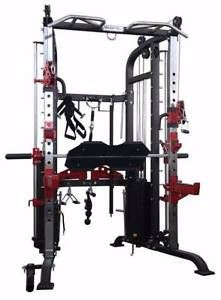 New Ultimate Functional Trainer with Cast Iron Weight Stacks Exercise Equipment For Sale, No Equipment Workout, Fitness Equipment, Workout Guide, Workout Gear, Gym Workouts, Big Girl Toys, Smith Machine, Basement Gym