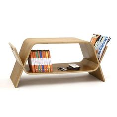 Molded plywood Embrace Media Coffee Table