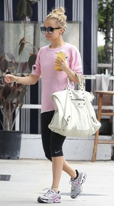 building my new body: Celebrities: outfits for gym