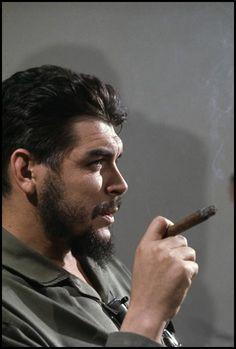 Elliott Erwitt - Che Guevara, Havana, Cuba 1964
