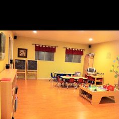 Footprints Family Childcare: Playroom