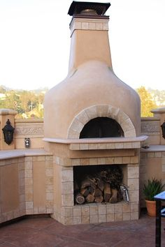 Outdoor wood fired oven - it'd be nice to bake bread this way