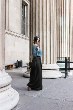 Arara Pintada: Visiting the British Museum | LOOK #86 #fashion #look #blogger #outfit #style #streetstyle #purificaciongarcia #zara #hm