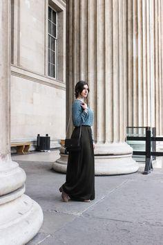 Arara Pintada: Visiting the British Museum | LOOK #86 #fashion #look #blogger #outfit #style #streetstyle #purificaciongarcia #zara #hm