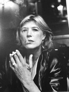 ...Marianne Faithfull, Monte Carlo, 1999 by Helmut Newton...