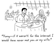 Online dating lives up to it's reputation.