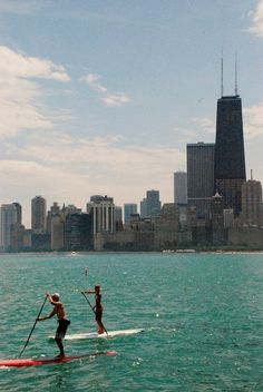 Stand Up Paddle Boarding, Chicago