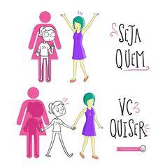 liberdade, feminismo, ser quem quiser, feminino, poder, empoderamento, amigas, amizade, dilemas da ivana, tirinha, ilustração, humor, bom humor