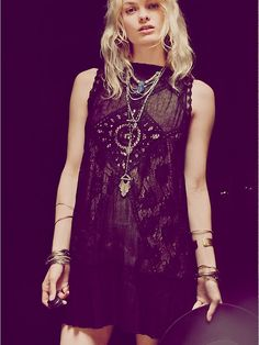 Free People FP ONE Angel Lace Dress, £98.00