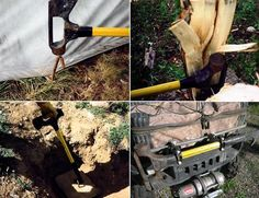 TNT Emergency Survival Tool- Built by two firemen in Colorado, this life-saving tool boasts a sledgehammer, ram, axe, pry-hook, D handle and pike hook.