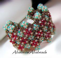 Sugar Cube Bracelet. Abalorios Ababeads
