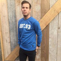 BLEND – Sweater blauw