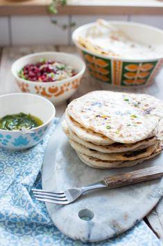 Drożdżowe chlebki pita (flatbred) z patelni - Kuchnia Agaty - najsmaczniejszy blog kulinarny!