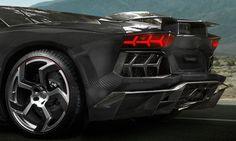 Mansory Lamborghini Aventador Carbonado Black Diamond... Oh Shit *_*